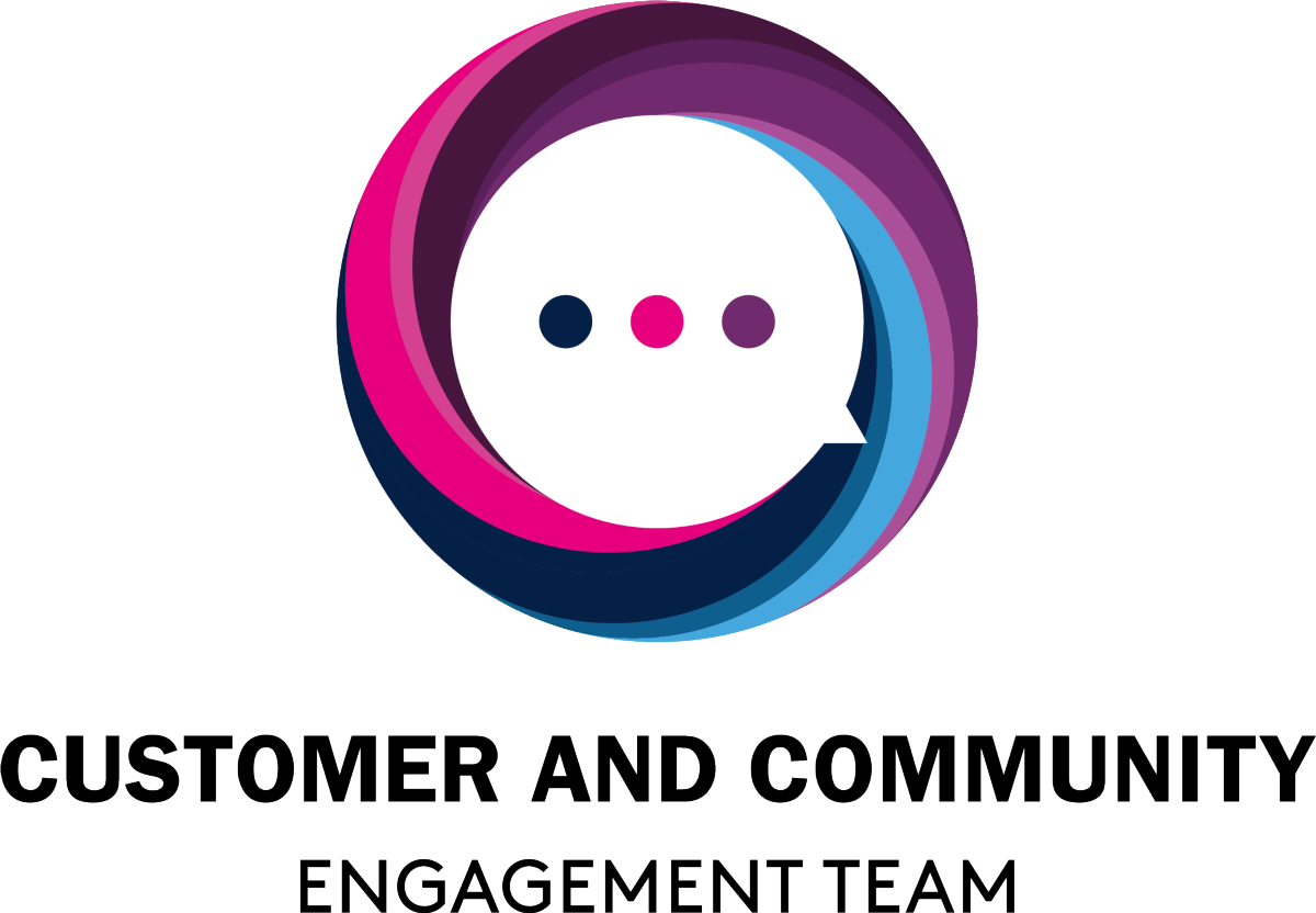 Customer and Community Engagement Logo