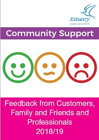 Community Support Feedback leaflets for 2018-2019