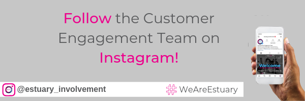 Follow the customer engagement team on instagram