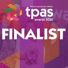 Estuary Housing Association were nominated finalists in three categories in the TPAS 2020 awards