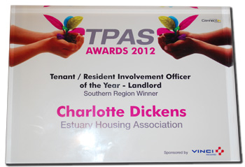 Tenants Participation Advisory Service Awards 2012