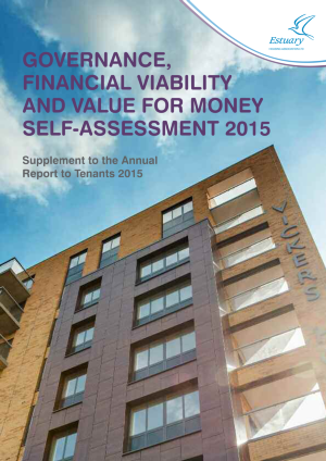 VFM Self Assessment 2014-15 Front Page