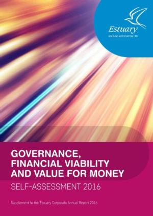 Governance & Financial Viability and Value For Money Self Assessment 2016 - Supplement to the Annual Report