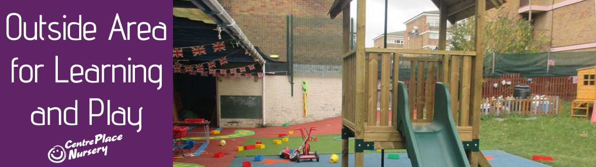 Outside Area for Learning and Play