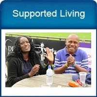Link to Supported Living pages