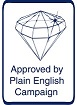 Plain English Campaign Approved By Logo