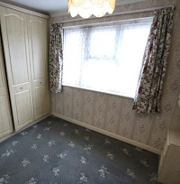 Photo of a fitted bedroom inside a flat at Oakham Court