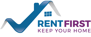 Logo: RentFirst. keep Your Home