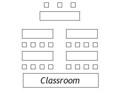 Classroom style configuration