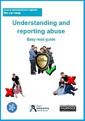 Link to ESAB Understanding and reporting abuse easy read guide